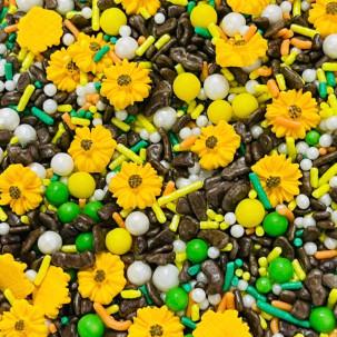 Sprinkles Girassol Cód.556 (Pacote c/ 50g)