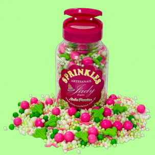 Sprinkles Premium Cactus Cód.P554 (Pote c/ 100g)