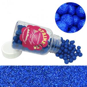 Sprinkles Premium Glow Azul Escuro Cód.P543AZE (Pote c/ 100g)