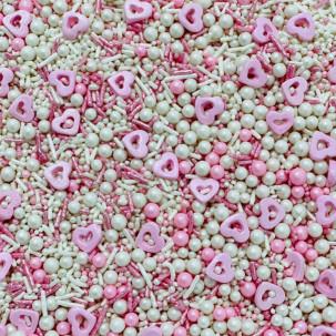 Sprinkles Coração vasado Cód.550 (Pacote c/ 50g)