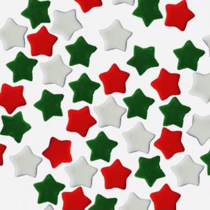 Natal Estrela de Natal Cód.289 (Pacote c/ 15g. Medidas 1cm)