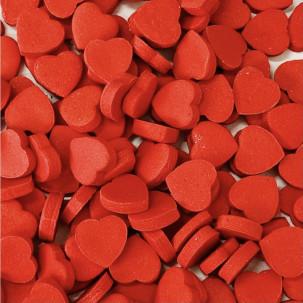 Mini Coração todas as cores Cód.263 (Pacote c/ 15g. Medidas 1cm)