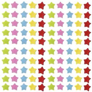 Estrelas p Cód.041 (Pacote c/ 15g. Medidas 1cm)