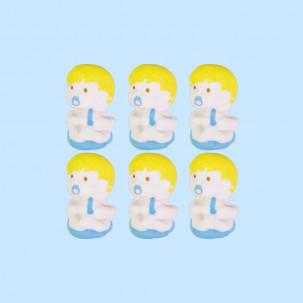 Bebê Cód.197 (Pacote c/ 6 pçs. Medidas 1,5cm x 2cm)