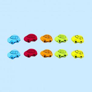 Fusca p Cód.135 (Pacote c/ 10 pçs. Medidas 1,5cm x 1,5cm)