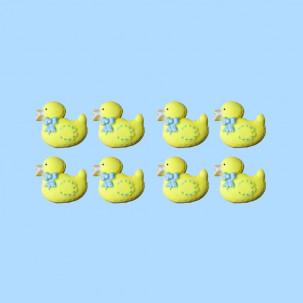 Patinho Baby Cód.338 (Pacote c/ 8 pçs. Medidas 2cm x 1,5cm)
