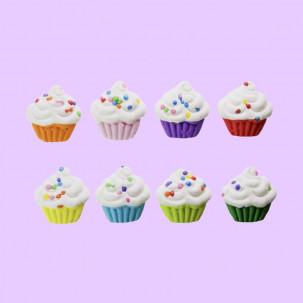 Cupcakes Colors Cód. 296 (Pct. c/ 8 pçs. Med. 1,5cm x 1,5cm)