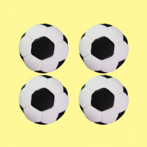 Bola g Cód.071 (Pacote c/ 4 pçs. Medidas 3cm)