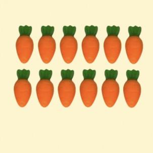 Pascoa Cenoura Micro Cód.396 (Pacote c/ 12 pçs. Medidas 1cm x 1,5cm)