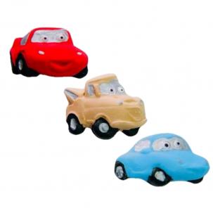 Carros G Cód.159 (Pacote c/ 3 pçs. Medidas 4,5cm x 3,5cm)