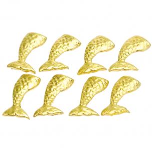 Cauda de Sereia P cód.496 (Pacote c/ 8 pçs Medidas 2cm x 3cm)