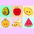 Confeitos Frutas