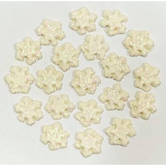 Floco de Neve P Miniatura Cód.609 (Pacote c/ 20 pças)