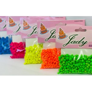 Sprinkles Fluores Cores Cód.529 (Pacote c/ 50g)