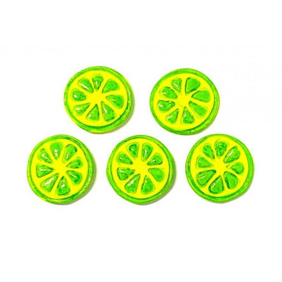 Limão Fatiado Cód.619 (Pacote c/ 5 Pças)