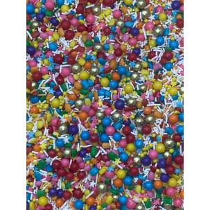 Sprinkles Mix Chiclé Cód.507 (Pacote c/ 50g)