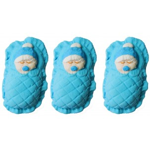 Bebê na Manta Cód.380 (Pacote c/ 3 pçs)