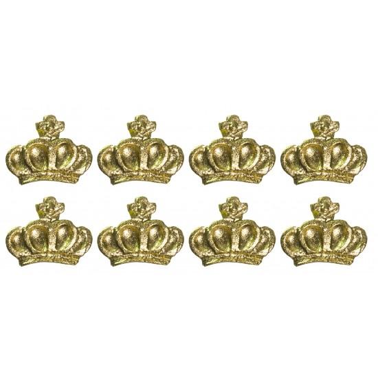 Corôa de Rainha Cód.470 (pacote c/ 8 pçs)