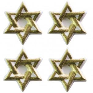 Estrela de Davi Cód.422 (Pacote c/ 4 pçs)