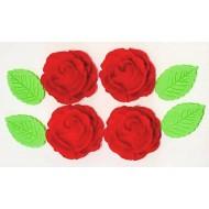 Rosa Safira Cód.492 (Pacote c/ 8 pçs)