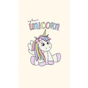Papel de Arroz UN038 Unicornio Tam.A4