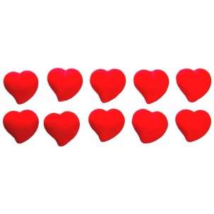 Coração Cód.019 (Pacote c/ 10 pçs)