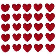 Mini Coração Cód.263 (Pacote c/ 25 pçs)