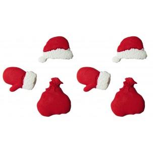 Natal Kit Papai Noel Cód.232 (Pacote c/ 6 pçs)