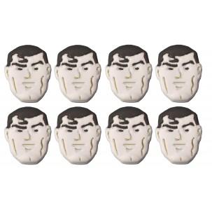Super Man Cód.484 (Pacote c/ 8 pçs. Medida 2,5cm x 2,5cm)
