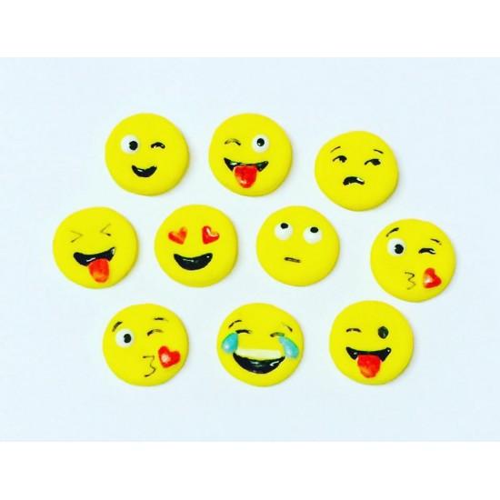 Emojis Cód.412 (Pacote c/ 10 pçs)