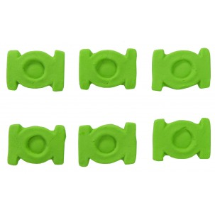Escudo Lanterna Verde Cód.403 (Pacote c/ 6 pçs. Medidas 2,5cm x 2,5cm)