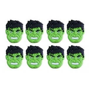 Hulk Cód.478 (pacote c/ 8 pçs. Medidas 2,5cm x 2,5cm)
