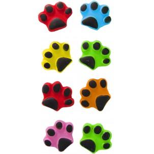 Pata de Cachorro color Cód.295 (Pacote c/ 8 pçs. Medidas 2cm x 2cm)