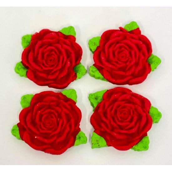 Rosa duas Massas Cód.358 (Pacote c/ 4 peças)