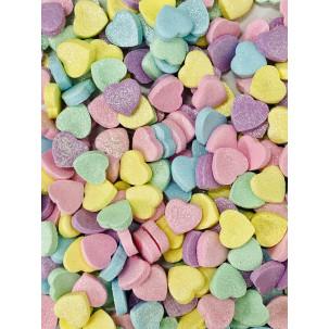 Mini Coração Candy Color Cód.263 (Pacote c/ 15g)